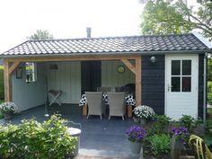 tuinschuur met veranda - Google zoeken