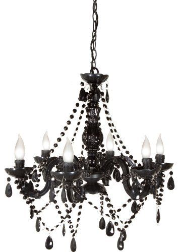 Molly n me 6 light black chandelier by molly n me httpwww molly n me 6 light black chandelier by molly n me http aloadofball Gallery