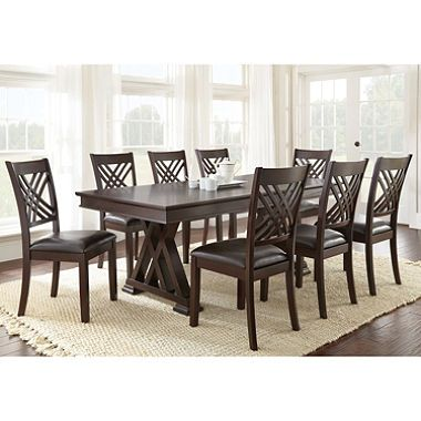 Avalon Dining Table And Chairs 9Piece Set  Dining Furniture Prepossessing 8 Pc Dining Room Set Design Decoration