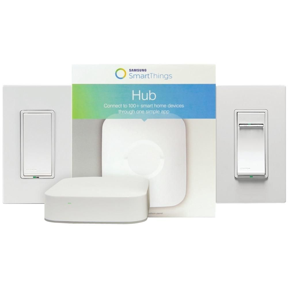 Leviton Security & Automation Samsung Smartthings Hub With Leviton Z ...