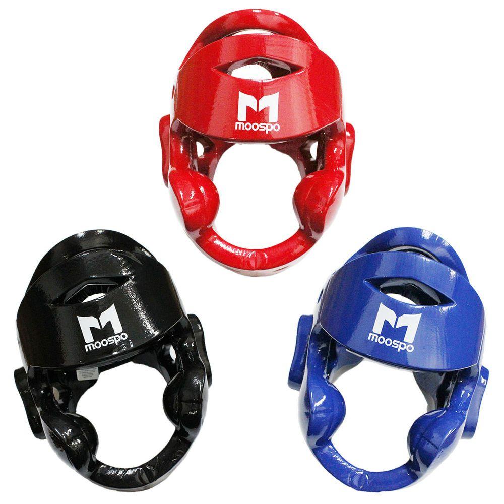 Karate Sparring Gear Basic set New Foam Headgear,Hand,Foot Protectors Guard-RED