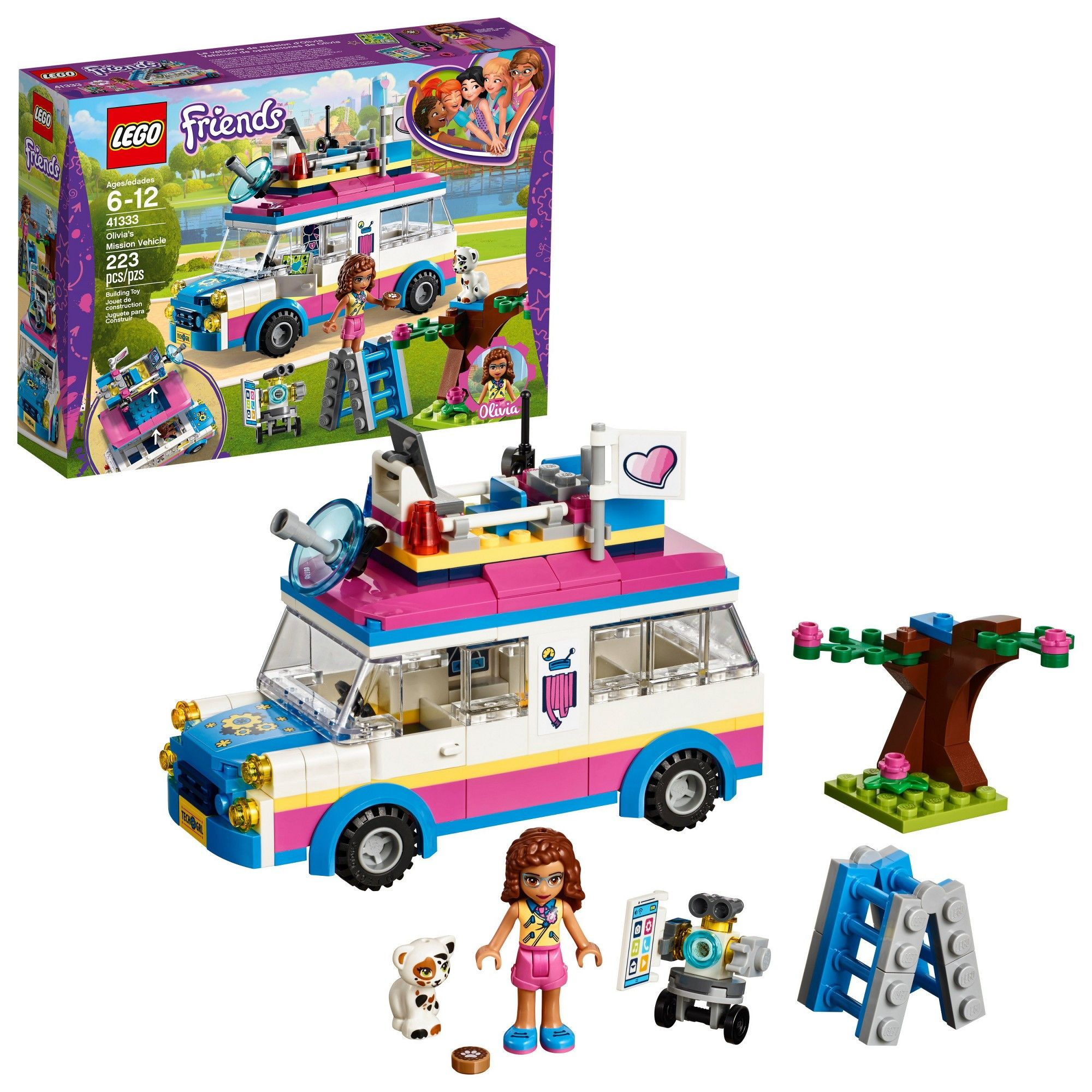 Lego Friends Christmas Sets.Lego Friends Olivia S Mission Vehicle 41333 Products