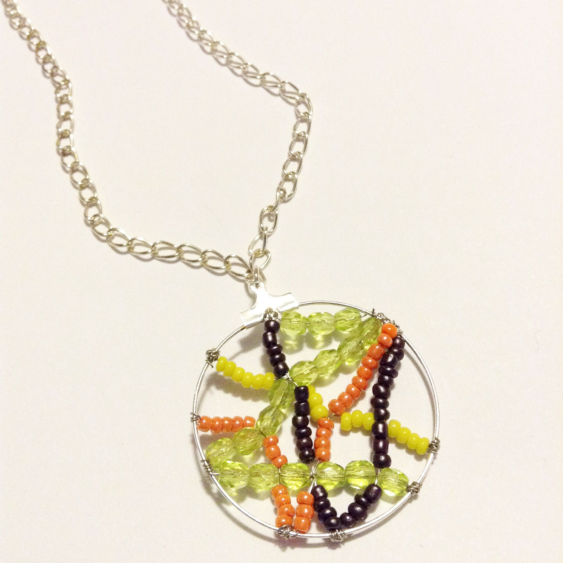 charm necklace wobisobi diy