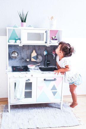 Ikea Duktig Kinderkche Pimpen U Einfache Diy Tricks Fr Eure Spielkche  Werbung Spielkche Aus Holz Ikea Kinderkche Und.