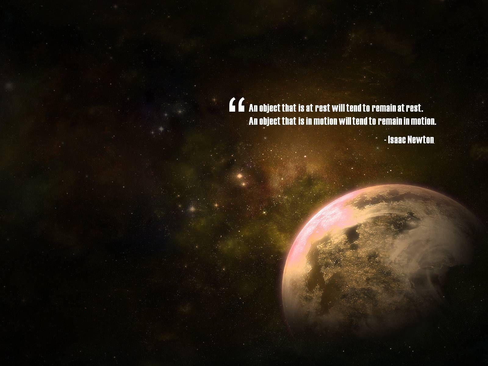 Inspirational · Newton QuotesIsaac ...