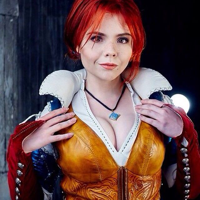 One More Part Of My Triss Cosplay Here You Can See Some Part Of