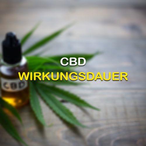 Cannabis Wirkungsdauer