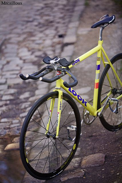 Look Steel Made From French Team Sprinter Classic Road Bike Look Bicycles Bicycle Bike