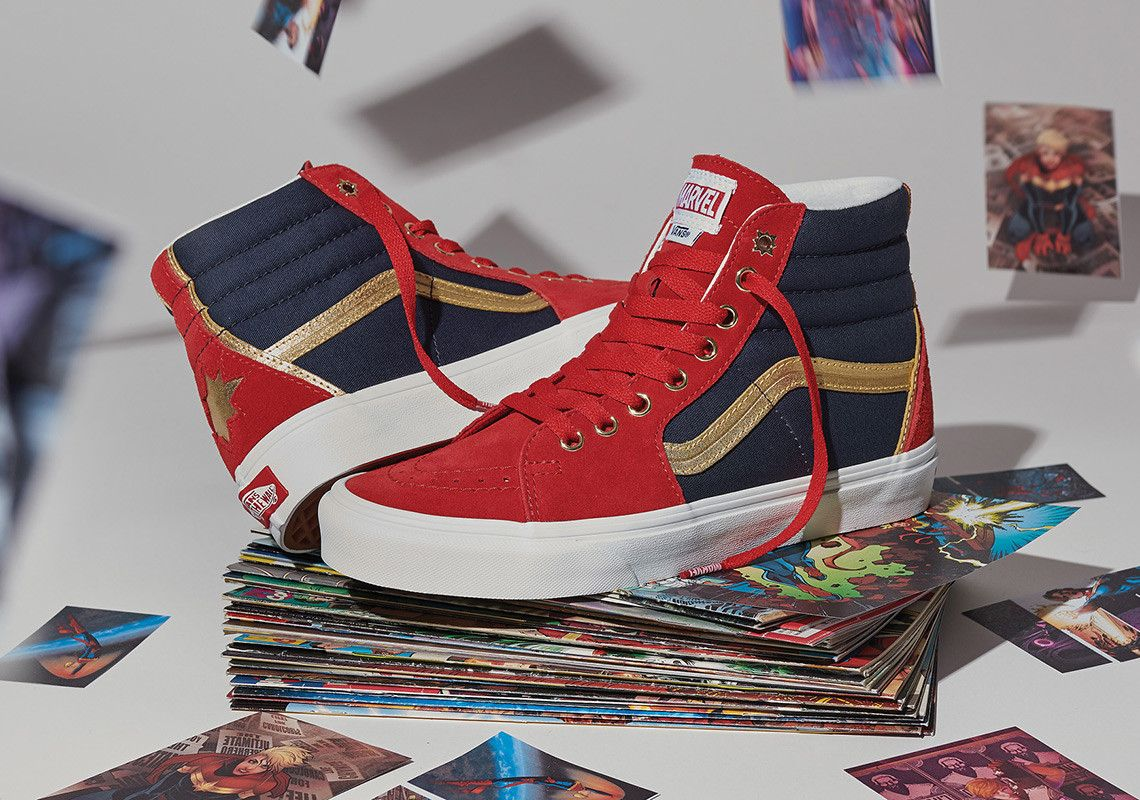 Vans x Marvel Avengers Collection Where to Buy | style