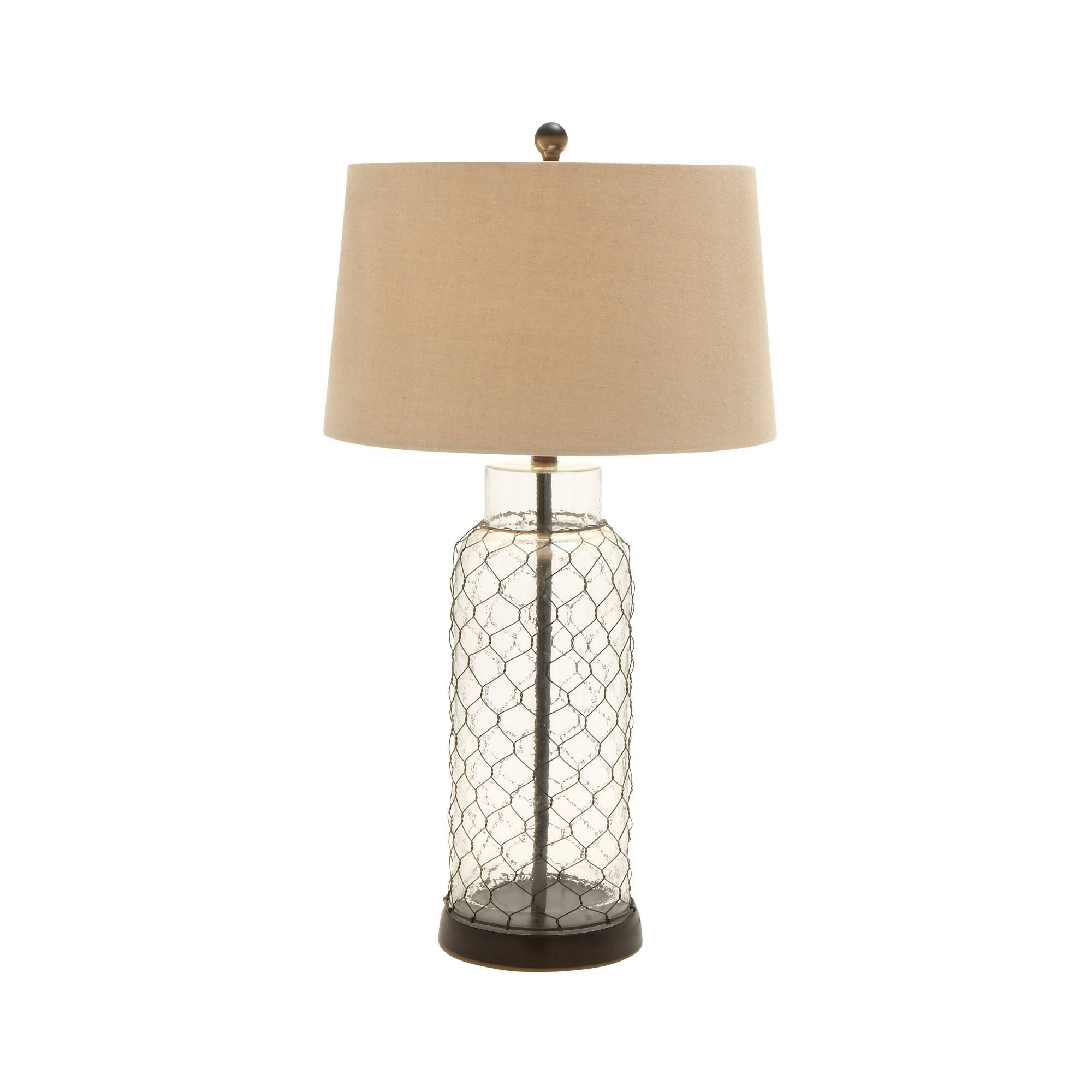today white rustic garden home table product lamp with weavers free overstock finish shipping lasvegas artistic