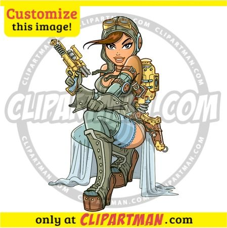 steampunk-aviator-cartoon-clipart-character-2371