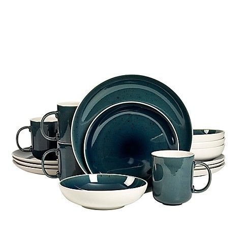 Tabletops Dinnerware Sets & This Tabletops Gallery Blue Milano 16-pc ...