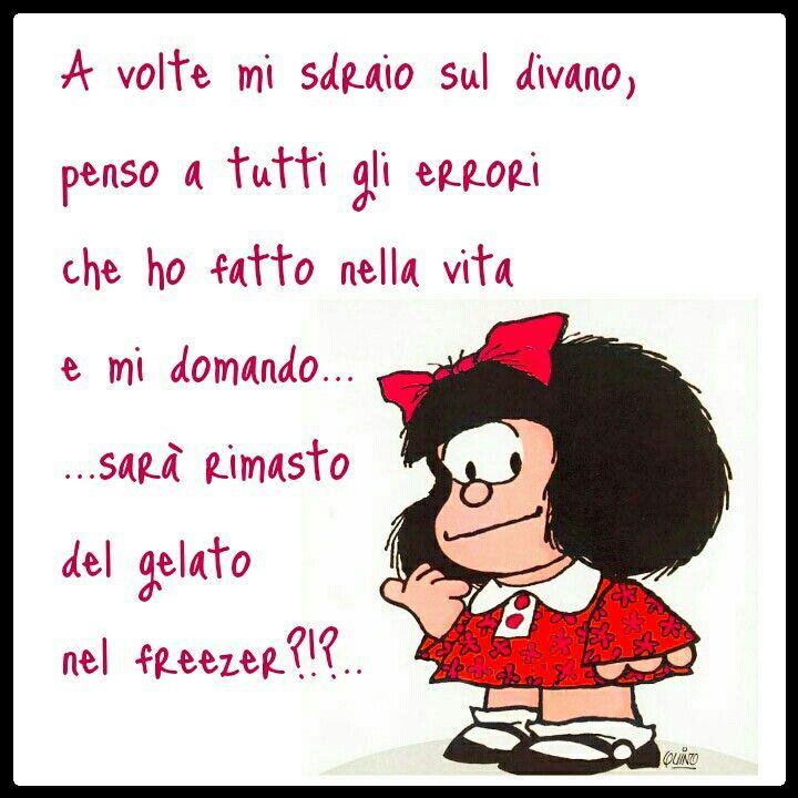 Mafalda | Citazioni divertenti, Citazioni ironiche, Immagini ...