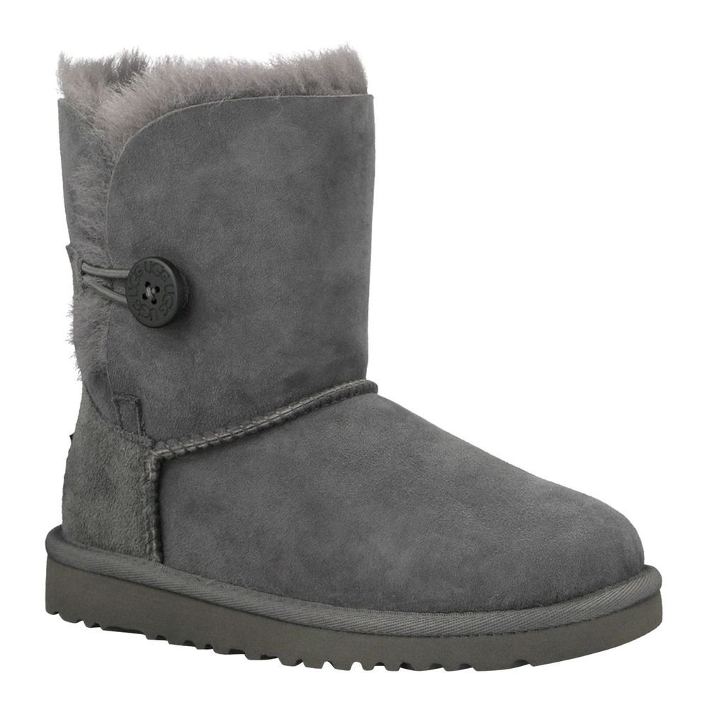 b990cb93640 Ugg Australia Girls Grey Bailey Button Boots Size 13 #UGGAustralia ...