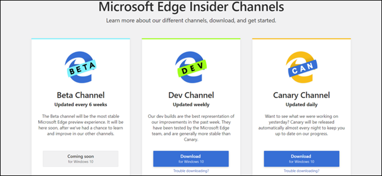 Download Try Microsoft S New Chromium Based Edge Browser Today