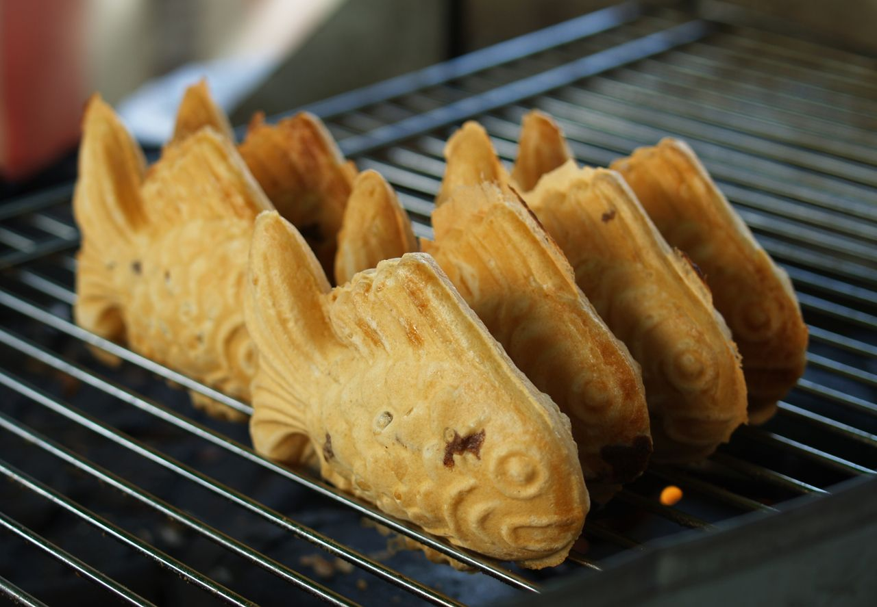 Bungeoppang carp fish bread is a small cake in for Fish shaped bread