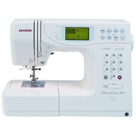 Janome Memory Craft 5900qc Sewing Machine Memory Crafts Janome