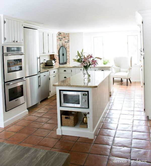 New Kitchen Flooring Ideas: Simple Ideas For Organizing Your Kitchen