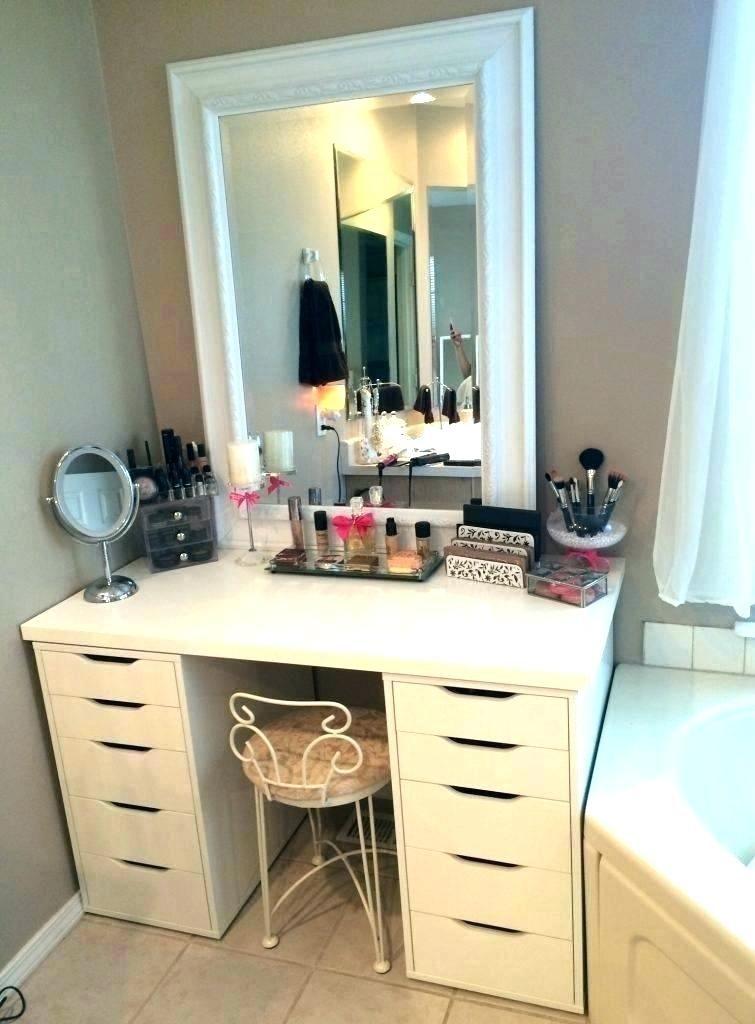 Ikea Bedroom Vanity Table Ikea Makeup Storage Ikea Vanity Bedroom Makeup Vanity