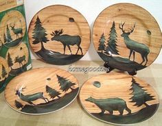 Merveilleux Cabin Dishes | The Dinnerware Has The Collectible Salad Plates As Part Of  The Set.