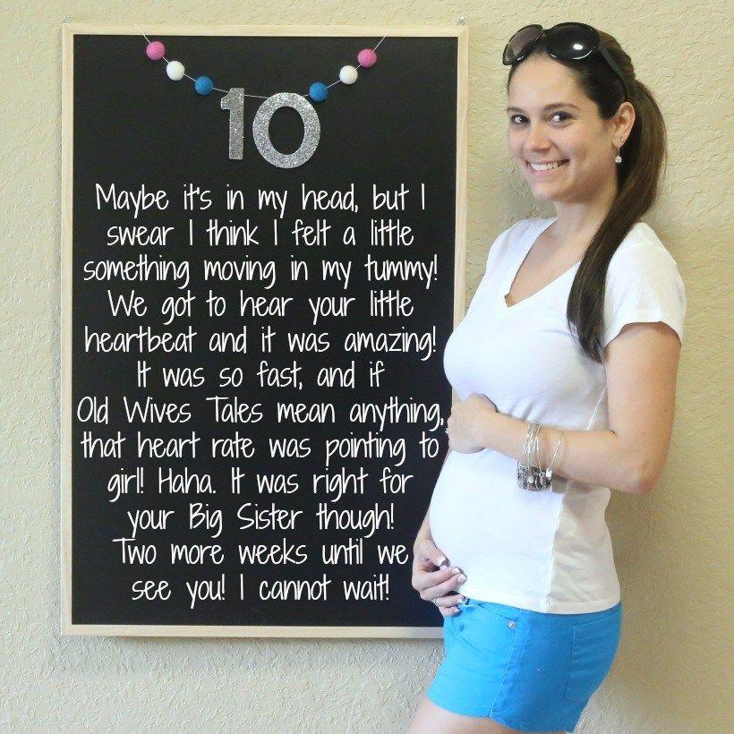 10 Weeks Baby Bump, Bump, Chalkboard, Chalkboard Pregnancy