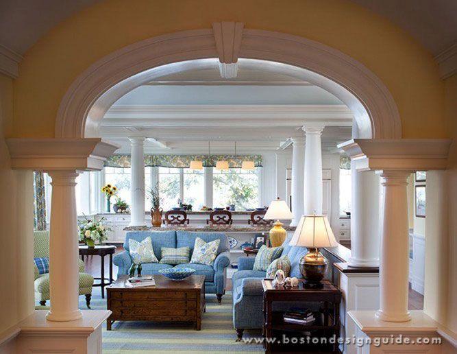 Waterfront Homestms Architects  Boston Design Guide Blog Extraordinary Living Room Boston Design Inspiration Design