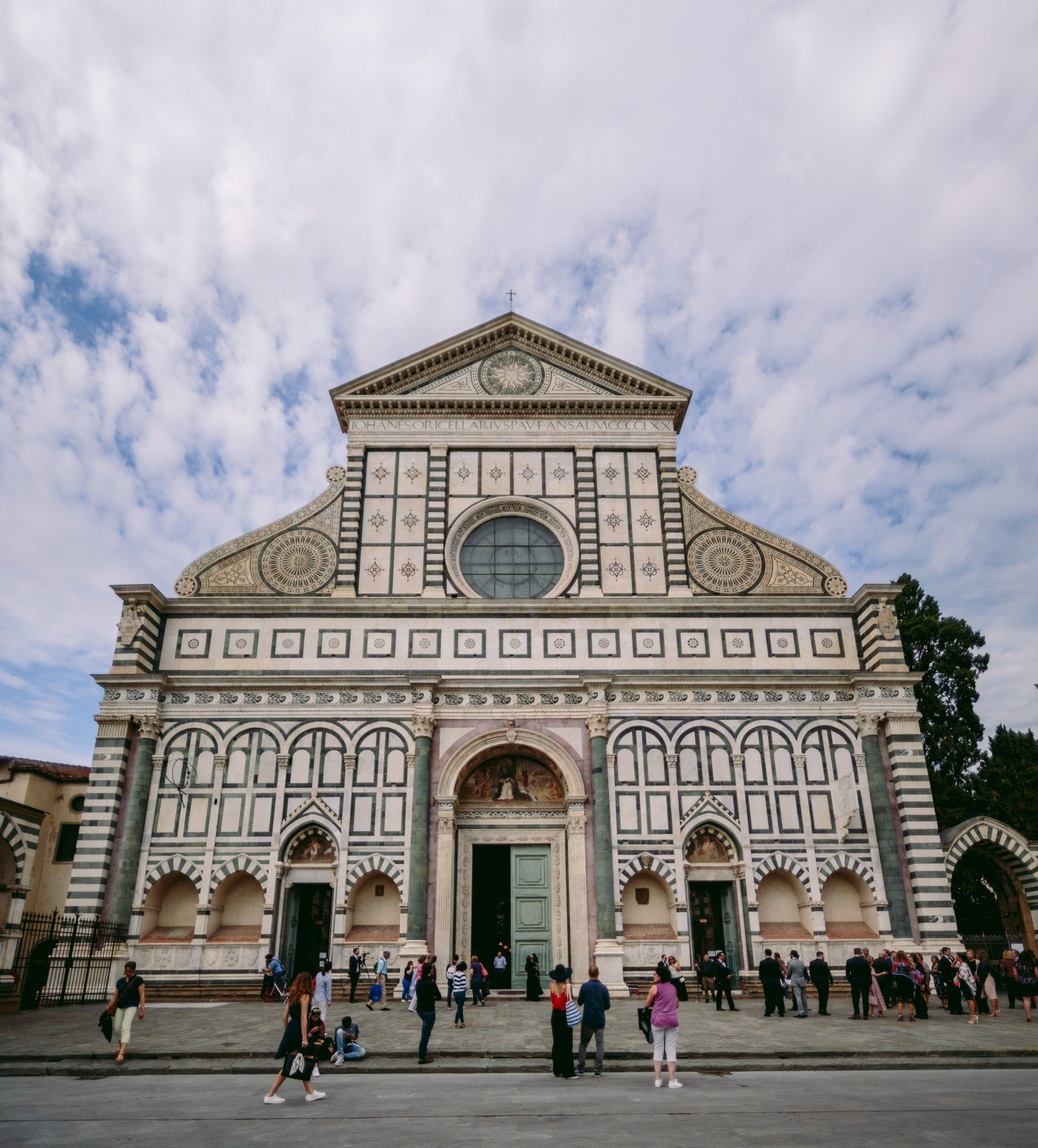 Church Wedding Decorations Ideas For Your Wedding In Italy: Santa Maria Novella Church In Florence, Italy. An
