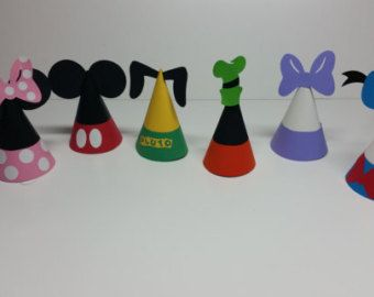 Mickey Mouse Clubhouse Party Hats 12 Mickey Party Hats Party
