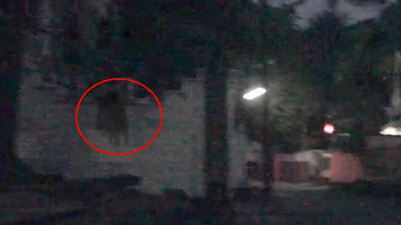 Scary Ghost Sighting Accidently Caught on Camera | Real ...