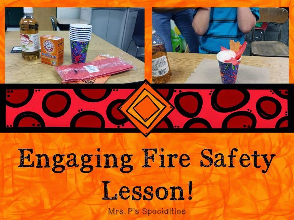 Fire Safety lesson Fire safety lessons, Fire safety
