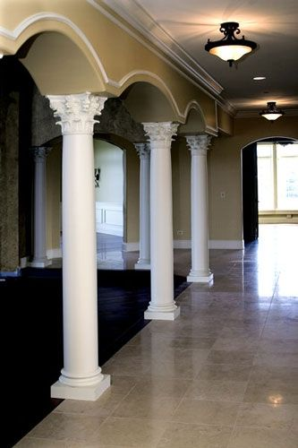 Columns for inside the house architectural designs for Interior columns design ideas