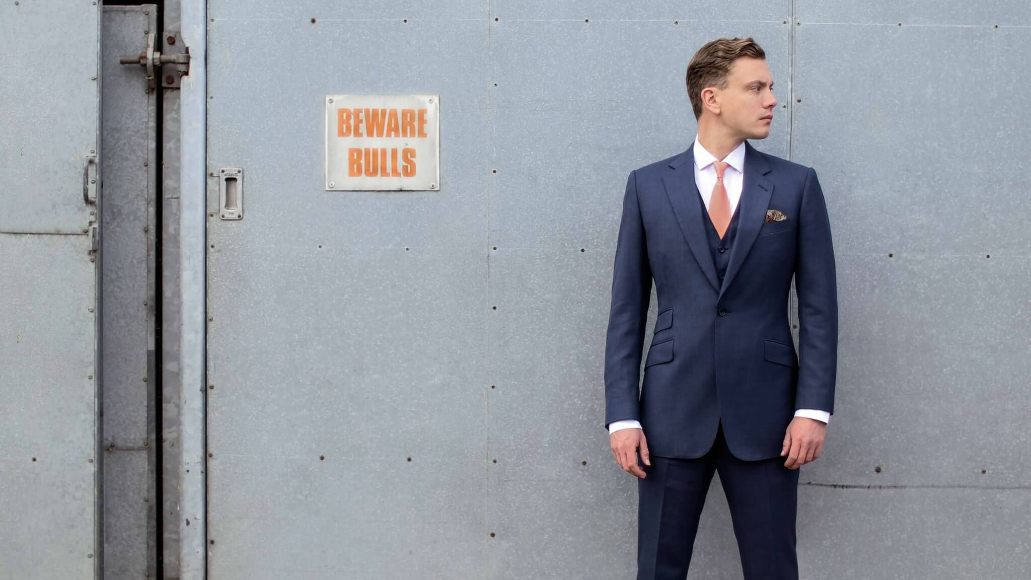 Wear the perfect business suit at work expertly tailored by Cad ...