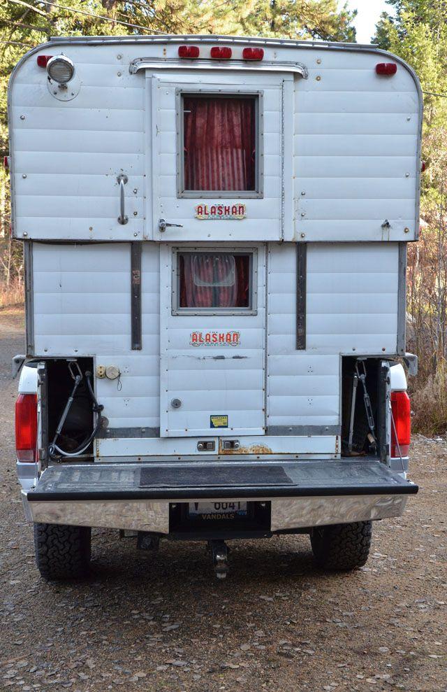 Alaskan Camper for Sale Truck bed camper, Campers for