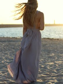 You are like a magic Naiad when the sea wind blows your hair and the sunshine lights your outline.