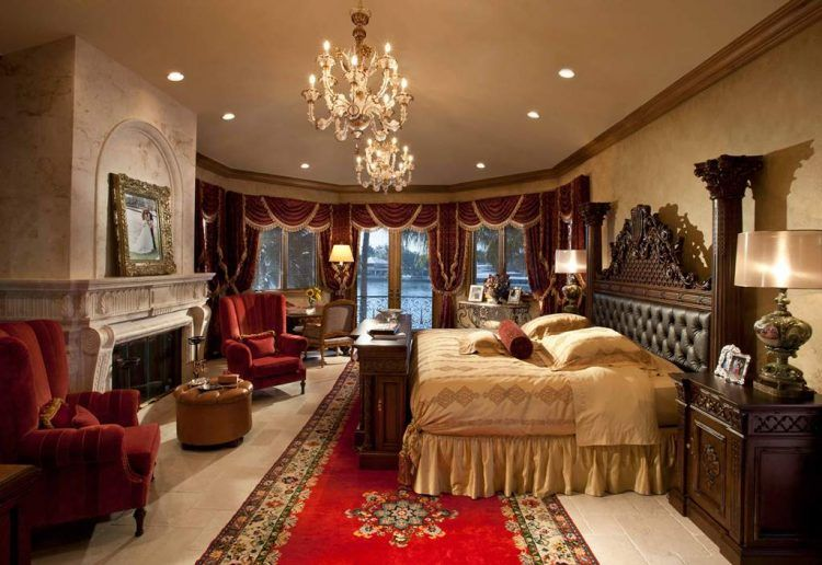10 Red Bedroom Ideas And Designs Luxury Bedroom Master