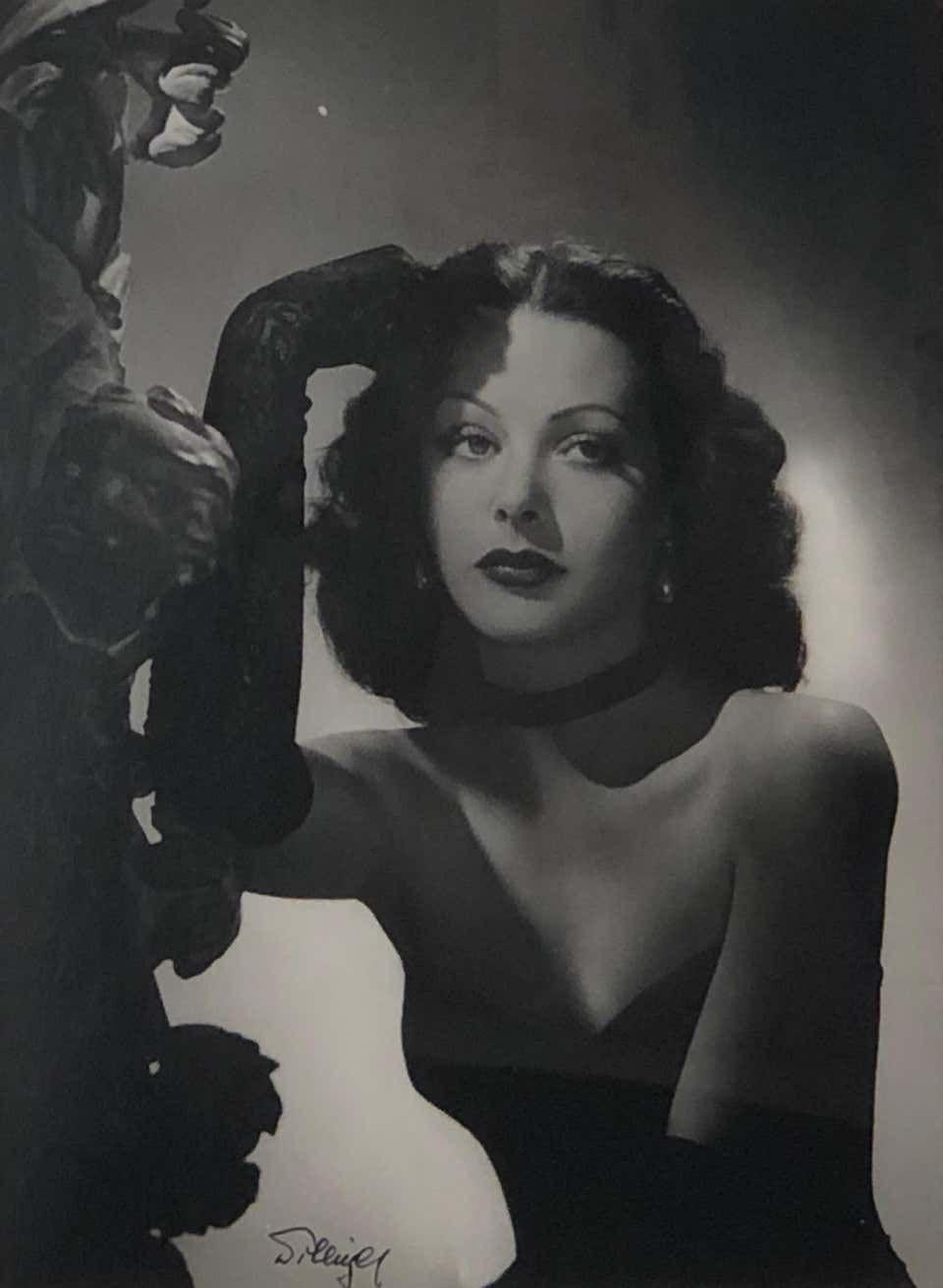 Laszlo Willinger - Laszlo Willinger, Hedy Lamarr, photograph