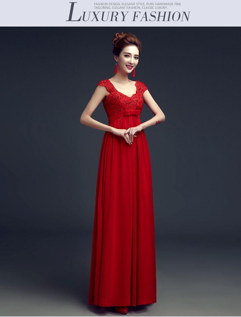 Click to buy ucuc new real picture cut back vestido de festa