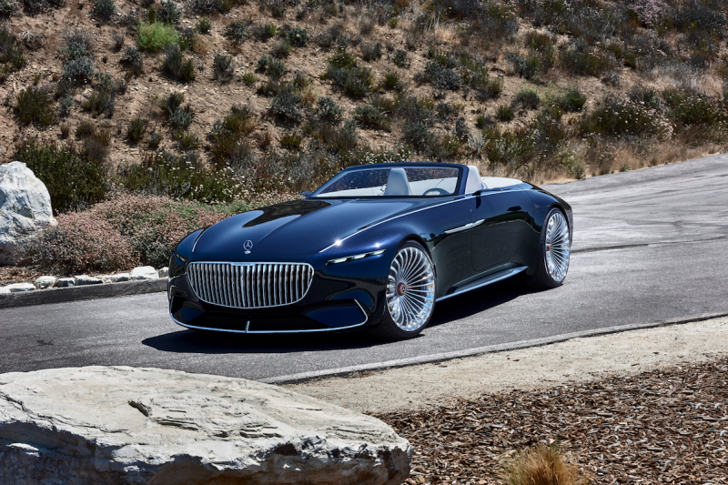 Mercedes-Maybach just unveiled a stunning convertible concept car to