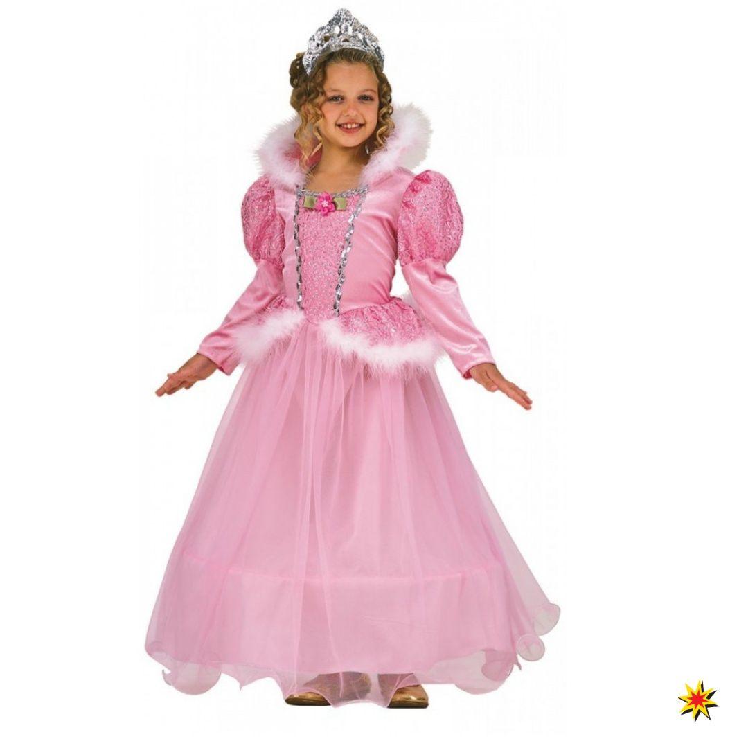 Kinder Kostüm Prinzessin Kleid rosa | Kinder kostüm ...