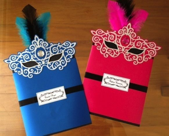 17 Best images about Masquere Party – Mask Invitations Masquerade Party
