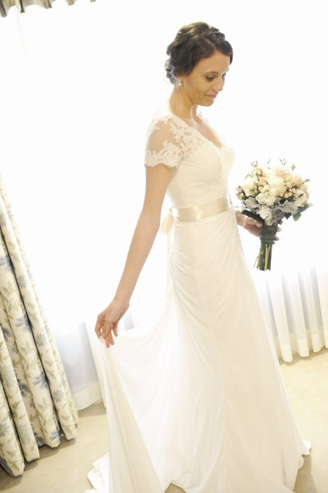 Maggie Sottero & Midgely, Lyla Spring 2013 Collection Lace Size 8 Wedding Dress For Sale | Still White Australia