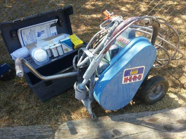 H E R O Paint Sprayer Model 300s Industrial Commercial