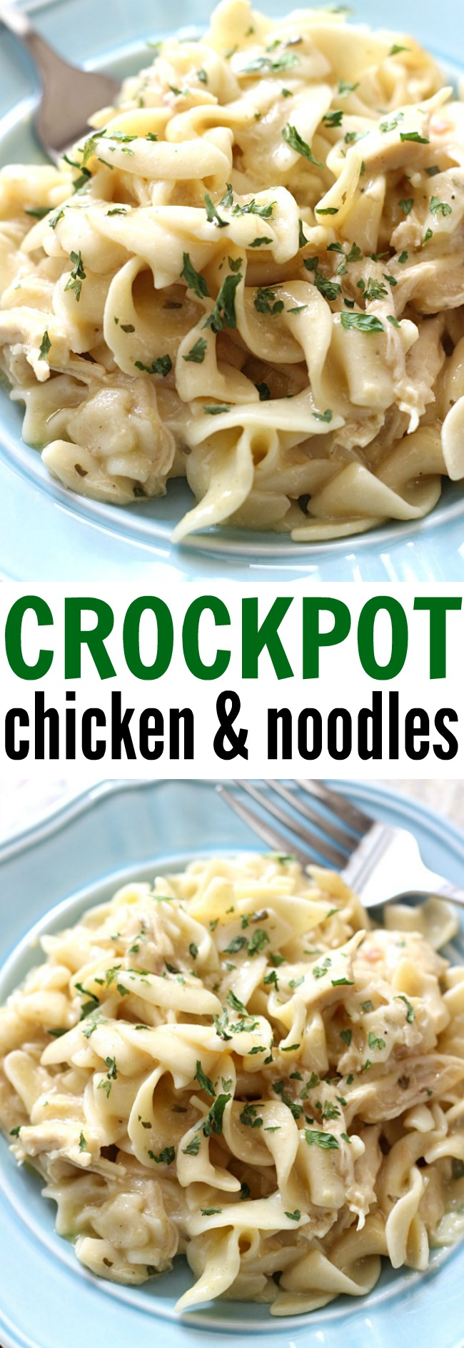 Photo of Crockpot Chicken and Noodles – Belle of the Kitchen