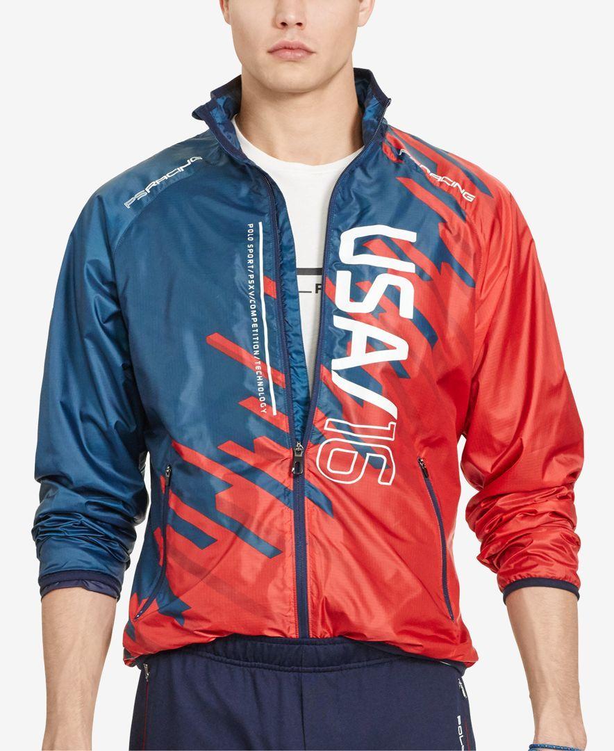 Polo Sport Men's Ripstop Jacket Coats & Jackets Men
