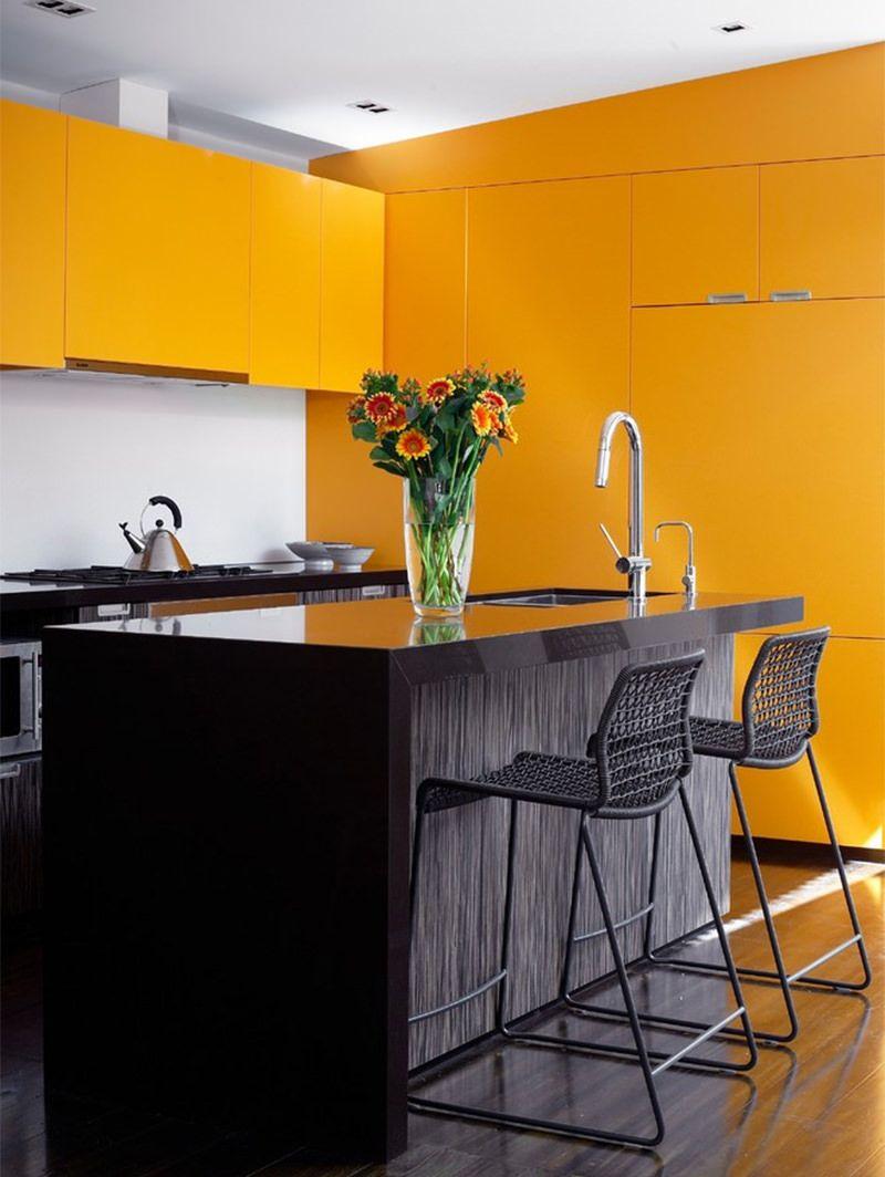 12 cozinhas amarelas pra quem gosta de fugir do tradicional | Pinterest
