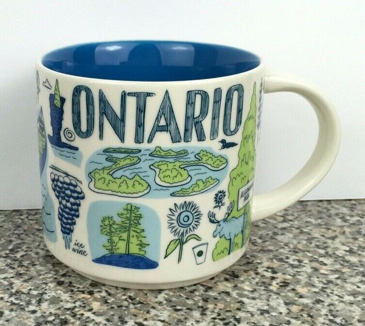 Starbucks Been There Series Ontario Canada Coffee Mug 2018
