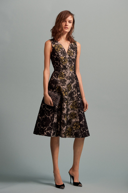 Oscar de la renta prefall fashion show oscar de la renta