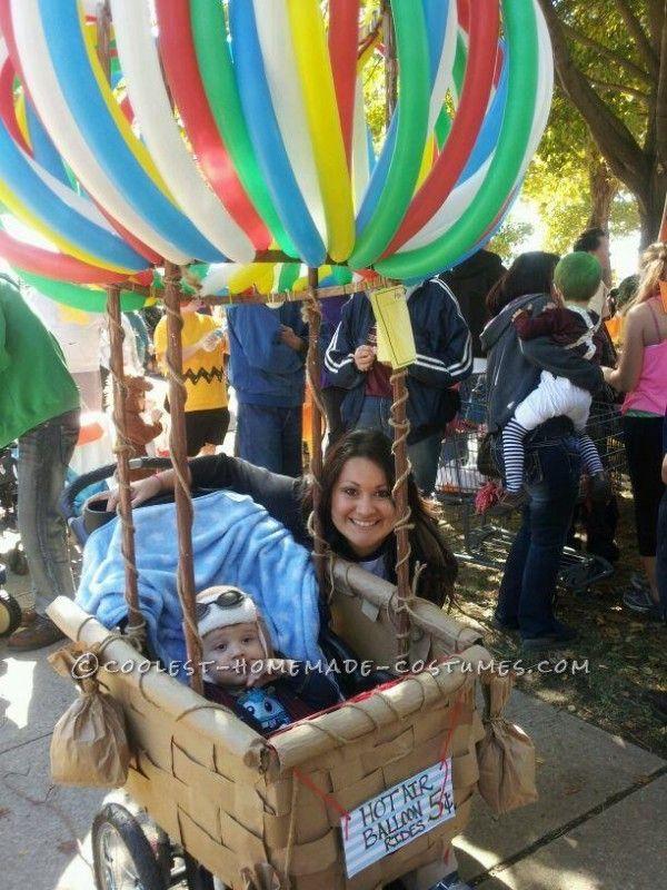 Cutest Hot Air Balloon Baby Costume Wagon halloween