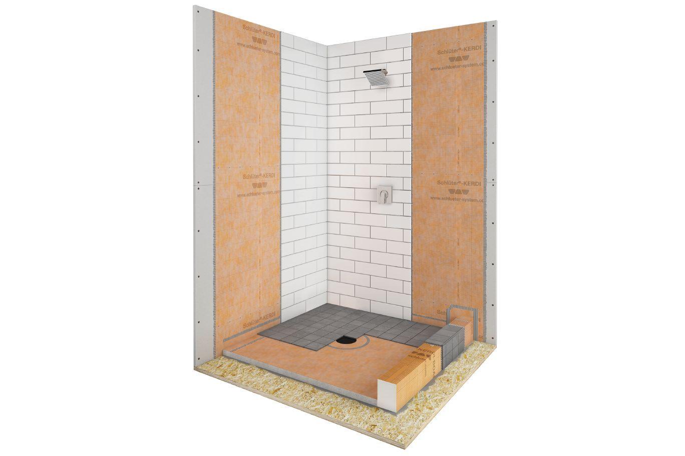 Schluter Kerdi Shower Kit Shower Kits Sauna Kits Shower Systems