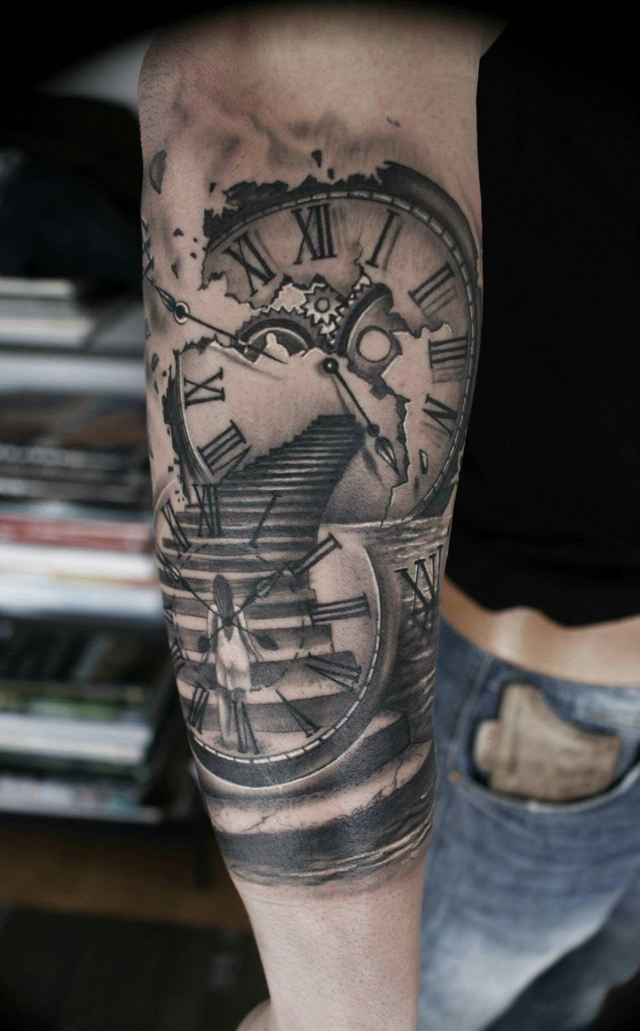 Vaidis2 Tatuajes Brazo Tatuajes De Relojes Tatuajes De Alas Y